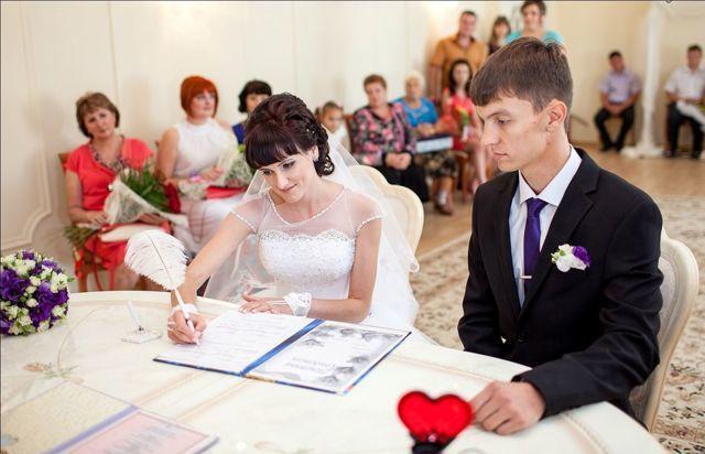 Заявление о заключении брака: пустой бланк, образец совместного заполнения