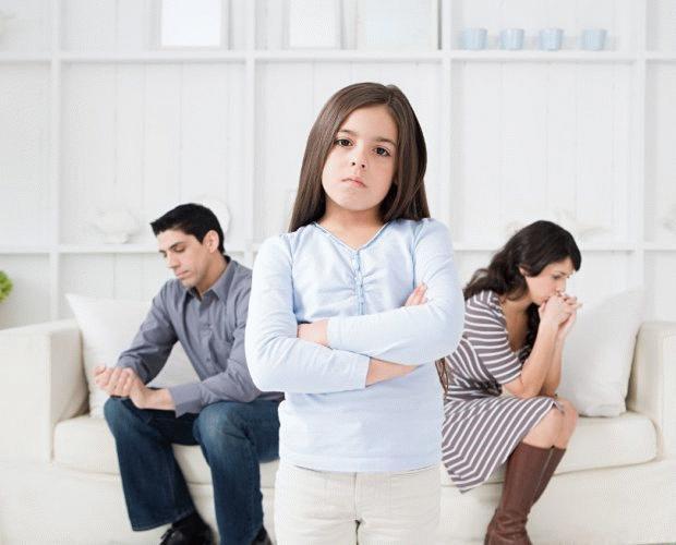 При разделе имущества супругов,  что достается малолетним детям – права ребенка при разводе родителей