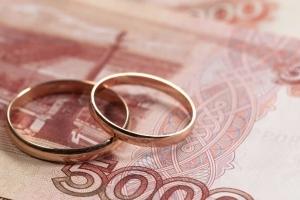 Госпошлина за регистрацию брака - стоимость и образец заполнения
