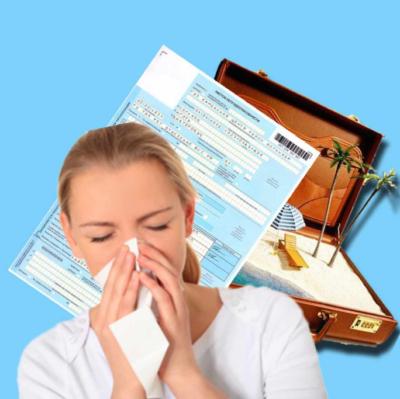Заявление на продление отпуска в связи с больничным: образец, нужно ли писать