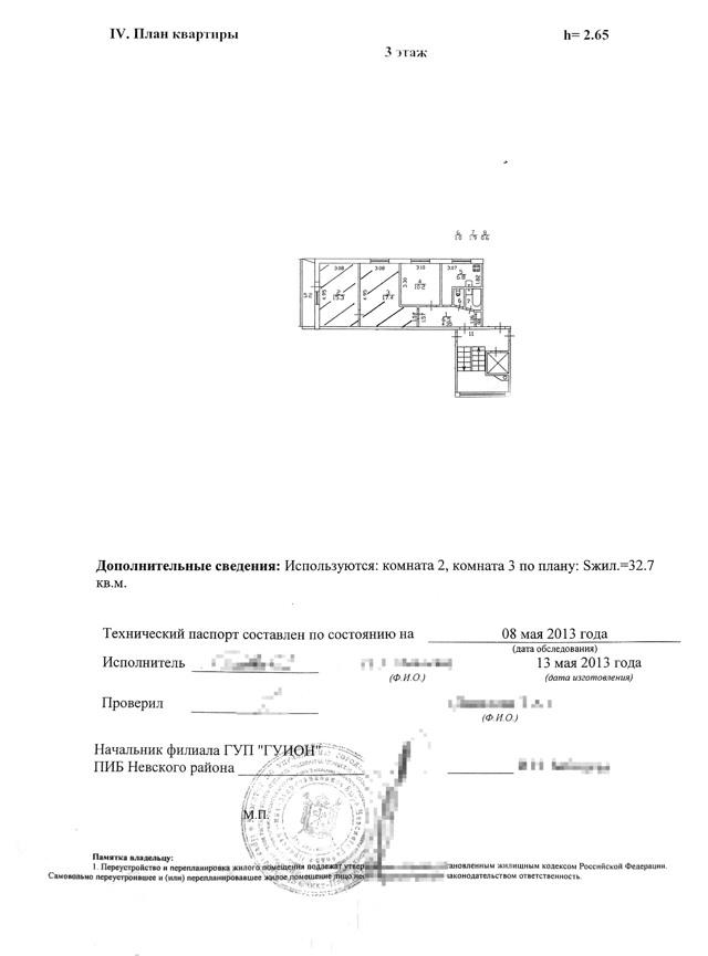 Технический паспорт на квартиру: что это такое, как получить документ в БТИ