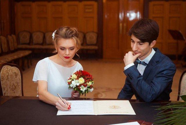 Платье для регистрации брака без торжества – что одеть невесте