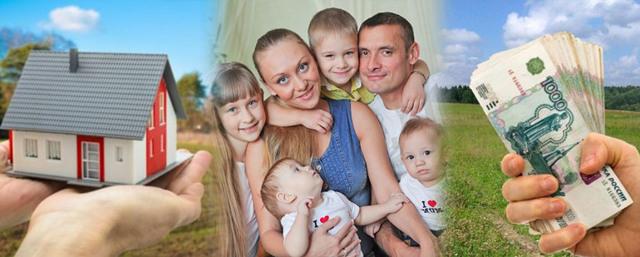 Многодетным семьям вместо земли могут выдавать деньги или нет